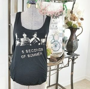 5 SECONDS of SUMMER tank top size XL